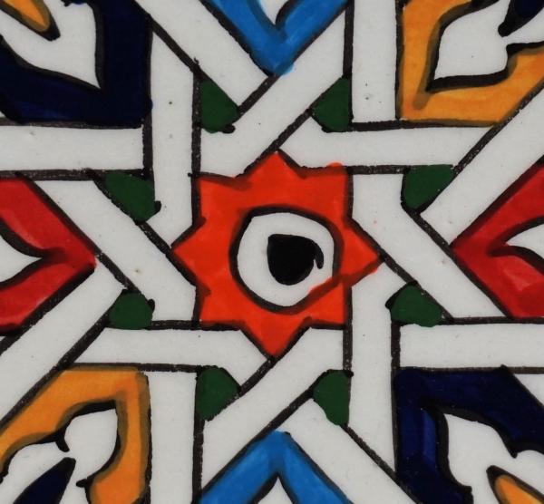 keramiek lines tegel Morocco