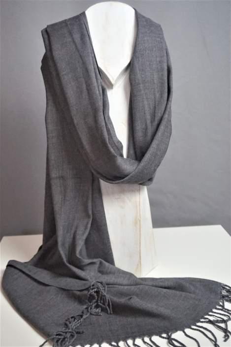 Sjaal Soena grey